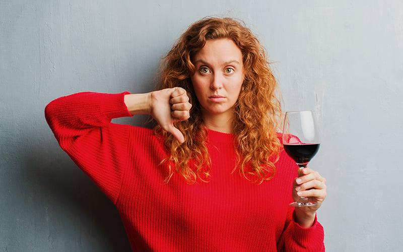 #2 Mantenha seus rótulos longe dos vilões dos vinhos