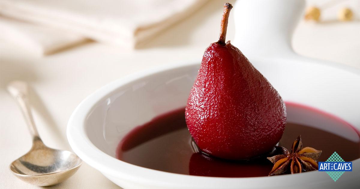 Aprenda como fazer uma deliciosa receita de pera ao vinho