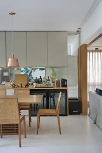 Modelo de bar e adega desenvolvido por Migs Arquitetura e Desing