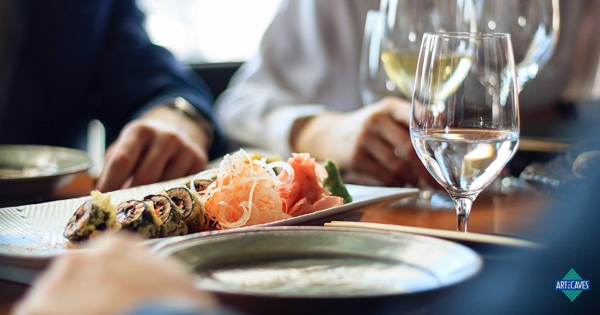 Como harmonizar comida japonesa com vinho?