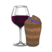 chocolate e vinho do porto