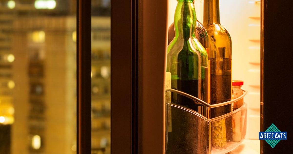 Porque guardar o vinho na geladeira não é uma boa ideia