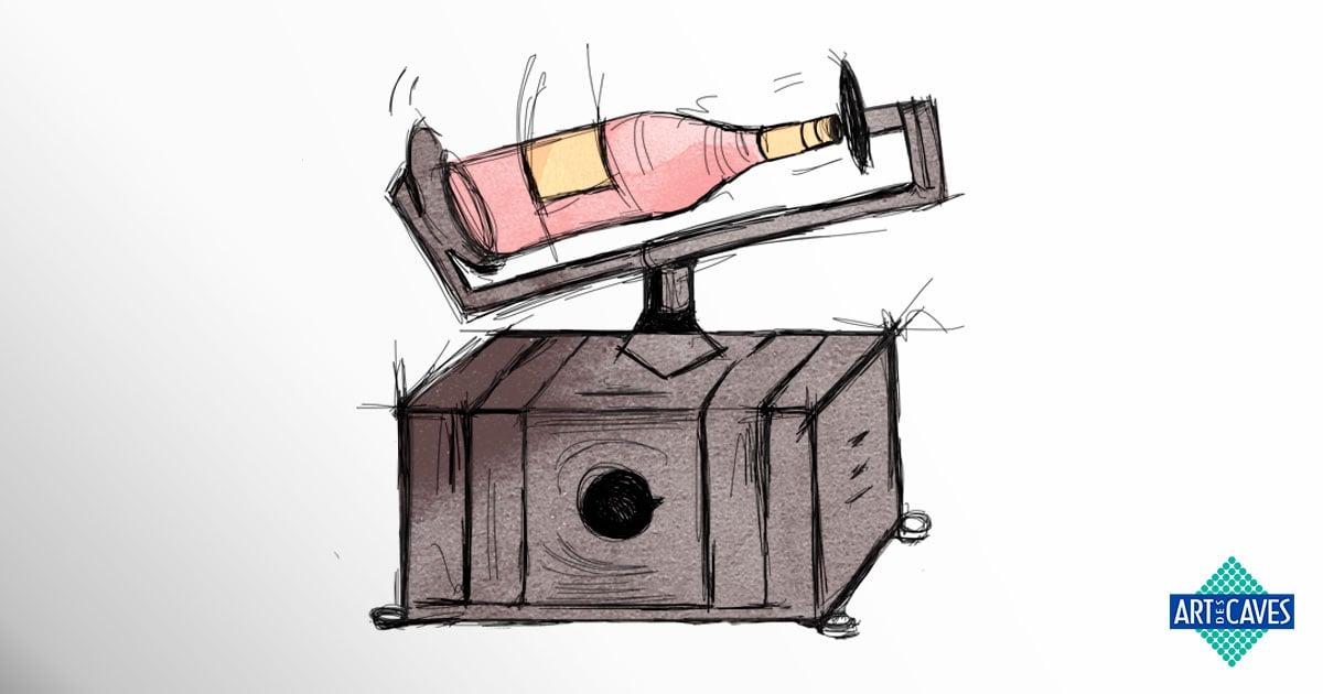 Você sabia que a vibração é um dos vilões do vinho?